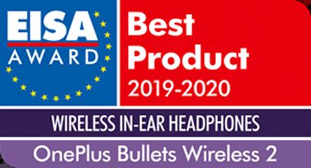 OnePlus Bullets Wireless 2 EISA Award